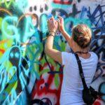 Graffitis barrio del Rollo Zaragoza